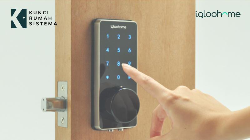 Mudahnya Pemasangan Kunci Pintu Otomatis KRS Igloohome