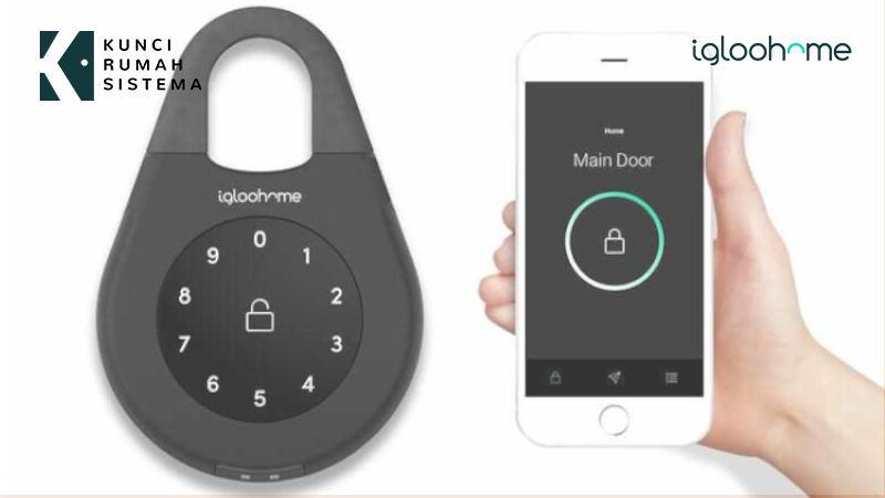 3 Cara Praktis Membuka Kunci Digital Rumah KRS Igloohome