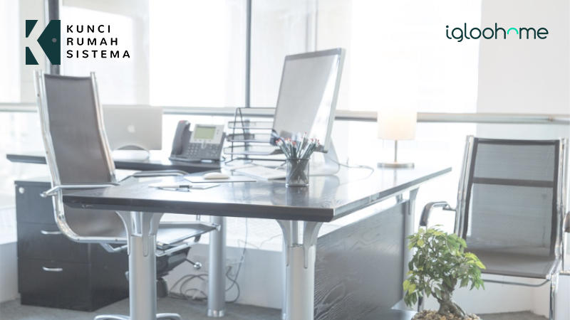 Kunci Digital Solusi Tepat Untuk Sistem Pengamanan Kantor KRS Igloohome.jpg