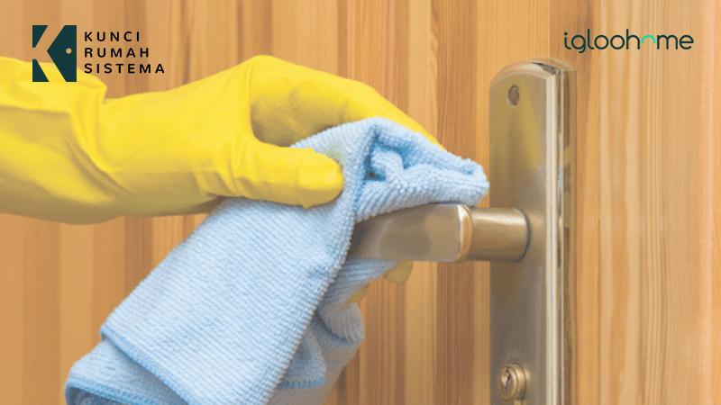 Cara Mudah Bersihkan Smart Lock Agar Terhindar Covid-19