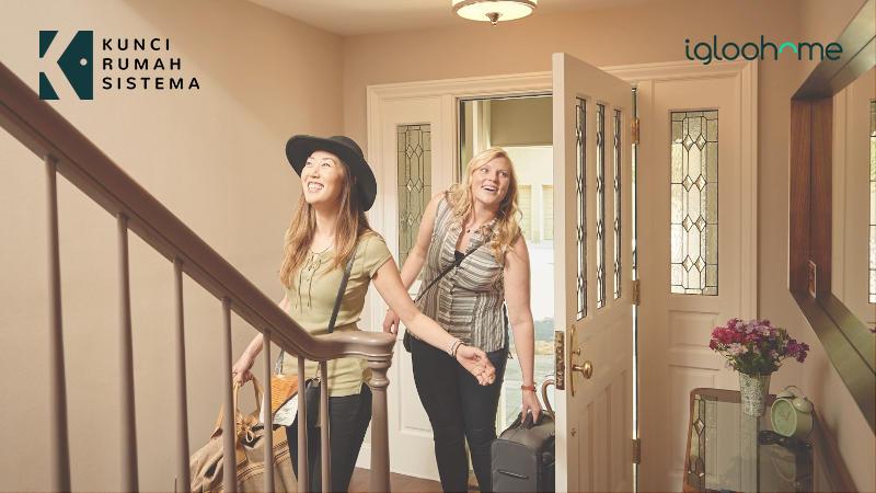 Tingkatkan kepuasan Tamu di Airbnb dengan Digital Door Lock KRS Igloohome