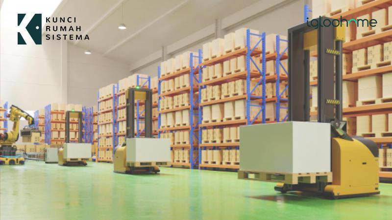 Tingkatkan Keamanan Logistik Dengan Kunci Pintu Elektronik KRS Igloohome